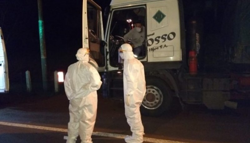 Un camionero se contagió por segunda vez de coronavirus