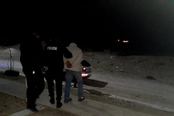 Una persona detenida tras ingresar a la casa de su ex pareja