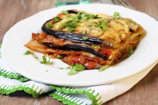 Cómo hacer lasagna de berenjenas