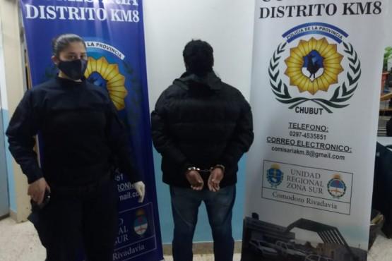 La policía detuvo a un hombre con pedido de captura en Río Negro