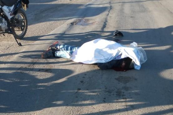 Conductor atropelló y mató a un hombre en plena Avenida
