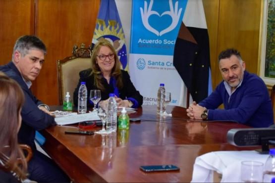Alicia dialogó con las máximas autoridades de SINOPEC