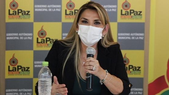 Presidenta de Bolivia.