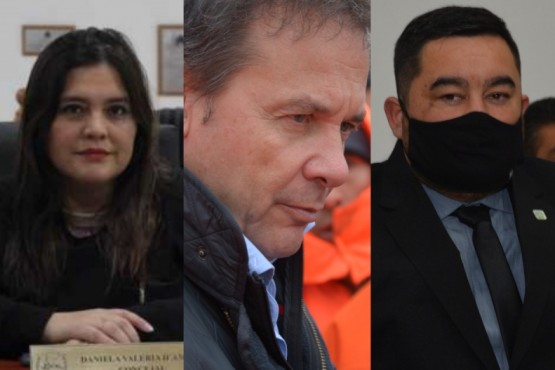 Daniela D´Amico, Eduardo Costa; Julio Arabena.