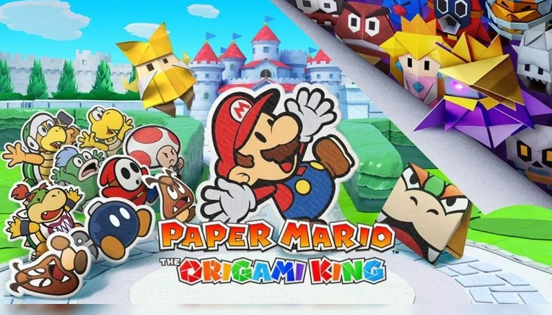 'Paper Mario: The Origami King', el videojuego más importante de NSW en 2020