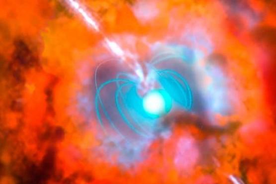 Fotografiaron el resplandor de una de las explosiones más grandes del universo