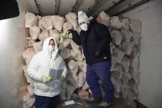 De Río Gallegos a Japón: 17 toneladas de corderos patagónicos de exportación