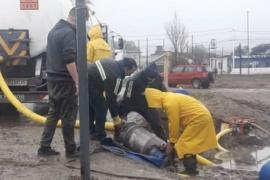 Abordaje territorial ante inundaciones en barrios de Caleta Olivia