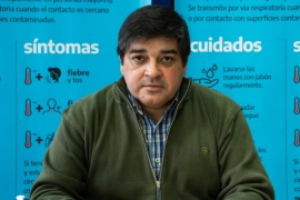 """García: """"No tenemos nuevas notificaciones de casos positivos"""""""