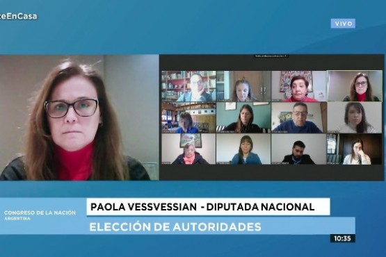 Paola Vessvessian, diputada nacional por Santa Cruz