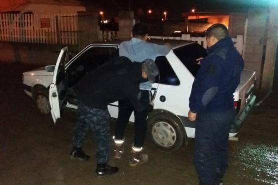 Varios secuestros y demorados en control policial
