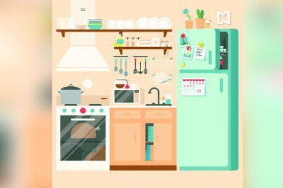 Encontrar 10 objetos escondidos en la cocina en menos de un minuto Re