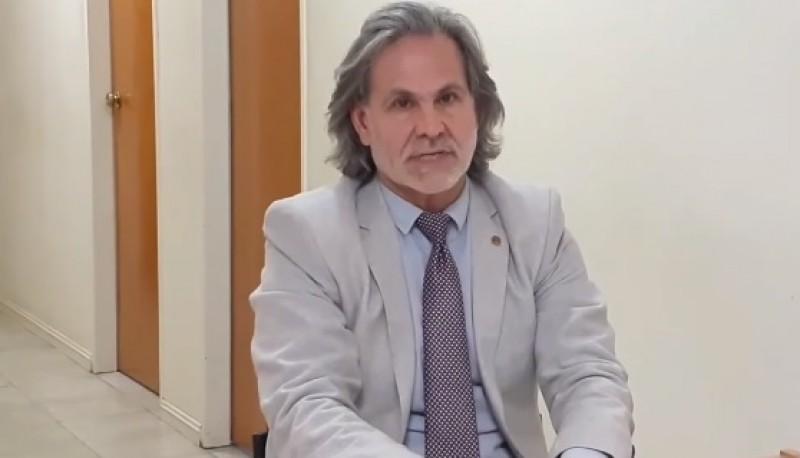 El Dr. Carlos Narvarte, Juez de Instrucción de El Calafate.