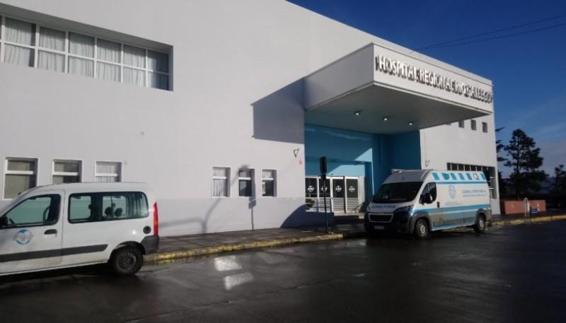 Hospital de Río Gallegos (Foto: C.Robledo).