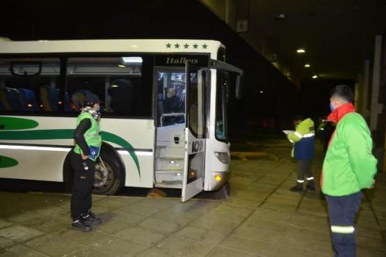 Provincia puso en funcionamiento el transporte interurbano en la zona del Valle y Puerto Madryn