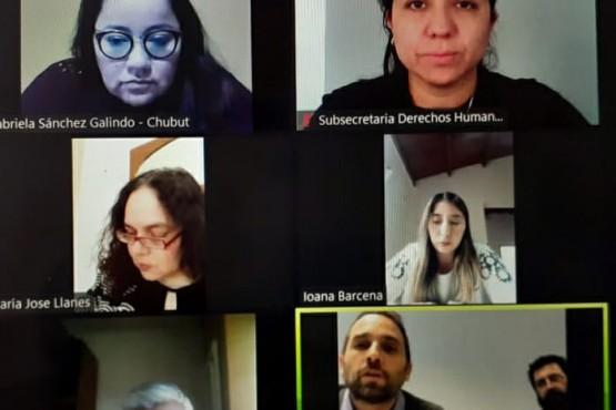 """Derechos Humanos se reunió con integrantes del equipo del """"Programa Salud en Contextos de Encierro"""""""