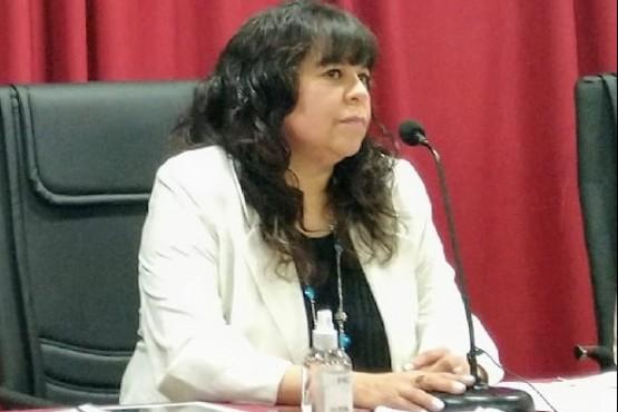 Paola Costa, presidenta del Concejo Deliberante de Río Gallegos.