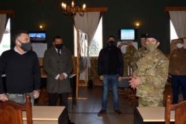 Provincia y Municipio junto al Ejército trabajan para controlar el brote de contagios