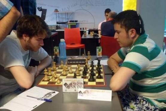 El jugador de la ADAR terminó invicto el torneo interno.