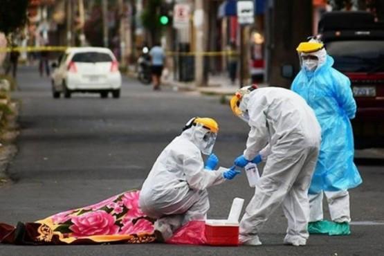Recogen 420 cadáveres en la calle: 85% habrían muerto por Covid-19