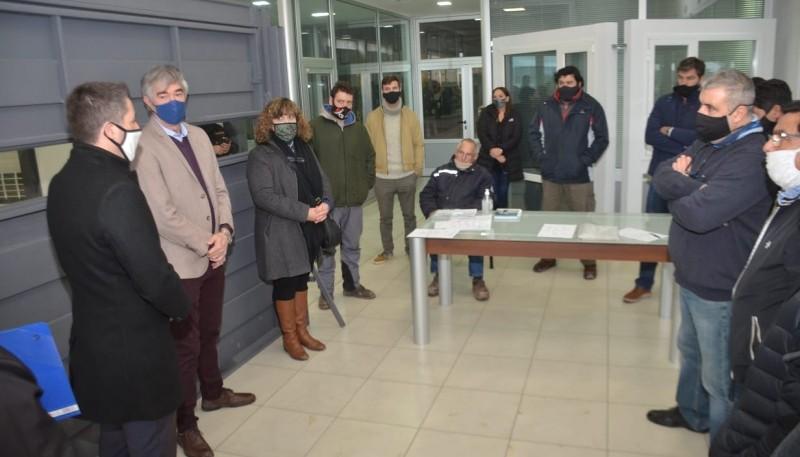 Funcionarios se reunieron con empresarios del Parque Industrial