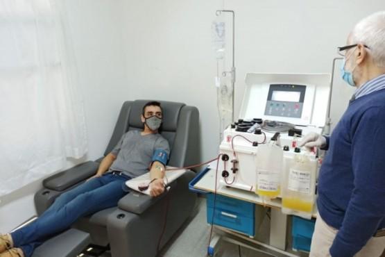 El Centro Regional de Hemoterapia incorpora nueva máquina de aféresis