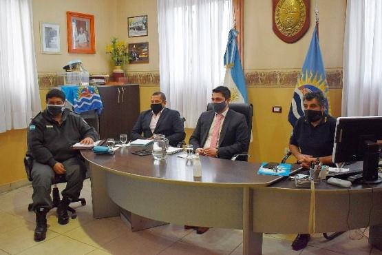 La reunión se realizó de manera virtual, entre el Gobierno provincial, la Asociación Civil Policial y el Centro de Retirados y Pensionados de la Policía.