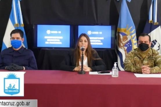 COVID Río Gallegos: casos estrechos no se encontraban al momento de los controles