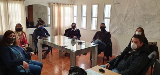 Autoridades de Pico Truncado potenciaran tareas en el territorio