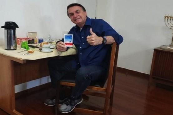 Bolsonaro dio negativo en un nuevo test de coronavirus
