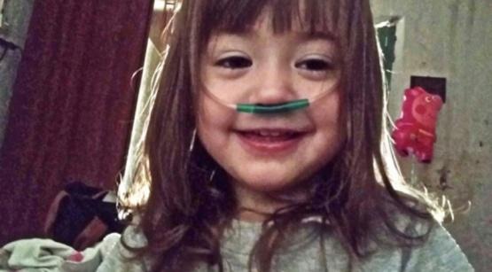 Piden ayuda para conseguir la medicación de una nena