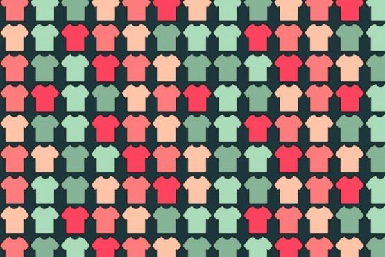 Reto viral: encontrar las cuatro remeras con cuello en V escondidas
