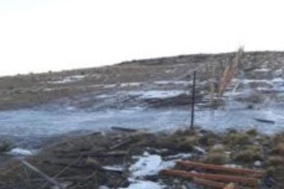 Chilenos abandonan auto con 5.500 atados de cigarrilos en suelo argentino