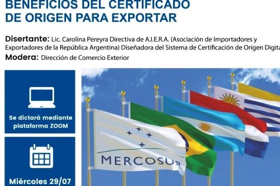 Capacitación sobre exportación destinado a emprendedores, PyMEs y comercios