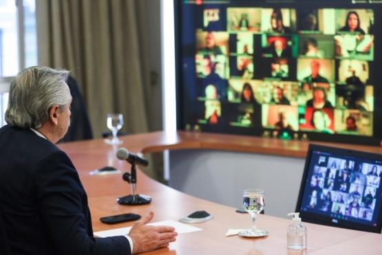 Alberto Fernández convocó a un acuerdo entre todos los sectores