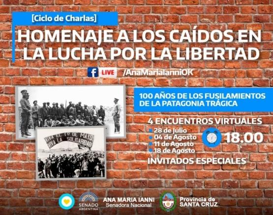 Ciclo de charlas en Homenaje a los luchadores por la Libertad