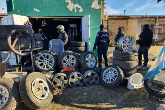 Recuperaron elementos robados durante dos allanamientos
