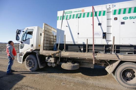 Se restableció el servicio de energía en Cushamen