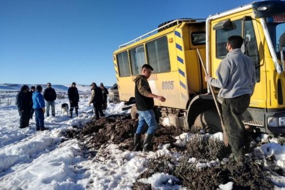 Operativo en Cushamen: Rescataron a tres abuelos en la zona de El Tropezón