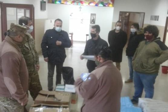 Entregaron insumos al Hospital Militar para la atención de pacientes COVID – 19