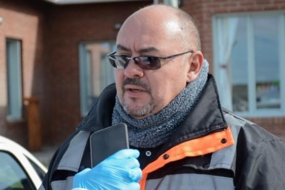 Diego Farías, titular de Protección Civil.