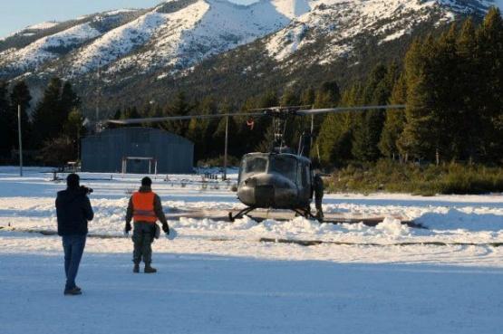 Chubut y Río Negro en emergencia climática por la nieve