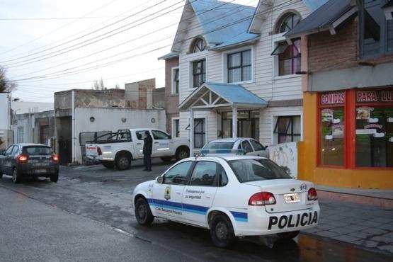 Hotel donde ocurrió el hecho y se inspeccionaron todos los departamentos. (Foto: C.G.)
