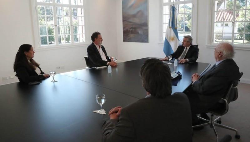 Coronavirus: El Presidente se reunió con científicos