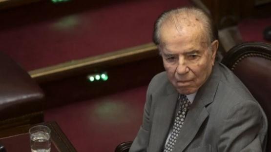 Volvieron a internar al expresidente Carlos Menem