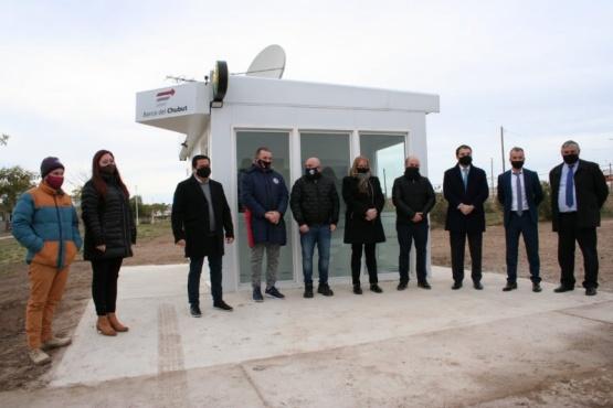 Quedó en funcionamiento el nuevo cajero del barrio Solanas de Puerto Madryn