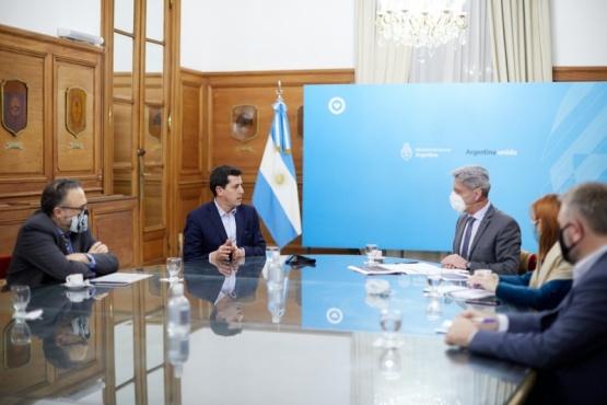 Arcioni presentó a De Pedro y Kulfas el proyecto productivo y de desarrollo para Chubut