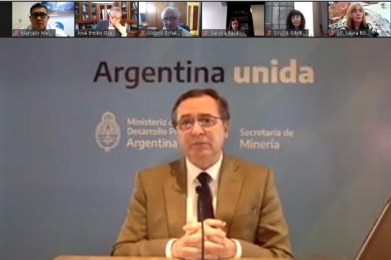 La videoconferencia fue encabezada por los ministros de Ciencia, Tecnología e Innovación, Roberto Salvarezza.