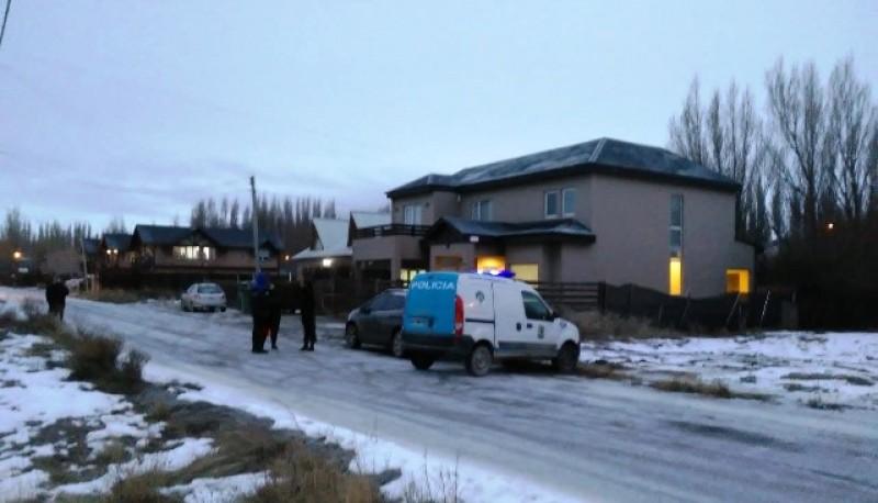La reconstrucción del homicidio se realizó en la casa de calle Perkic 124.