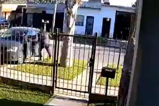 Le robaron el auto con su hijo de 6 años adentro